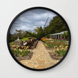 Italian Garden at Maymont Wall Clock