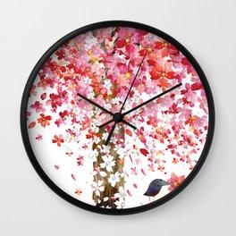 CHERRY WIND Wall Clock