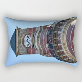 The Clock Tower Rectangular Pillow