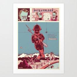 nitestalker Art Print