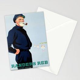 Randers Reb - Vintage Danish Poster Stationery Cards