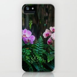 Orchid Leafy Orchid iPhone Case