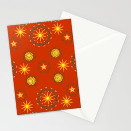 Star pattern6 Stationery Cards