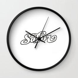 Sabor Wall Clock