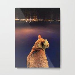 Cat City Metal Print