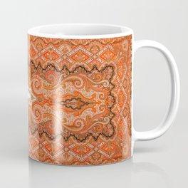 Cashmere  Antique Parisian French Shawl Coffee Mug