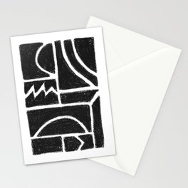 Charcoal Pattern Stationery Cards