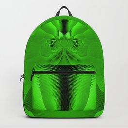 Vibrant Tropical Foliage Green #society6 Backpack