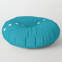 Dots Blue Floor Pillow