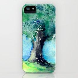 Oak Tree iPhone Case