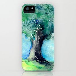 Oak Tree iPhone Case