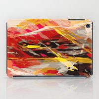 nicolas cage iPad Cases featuring fire cage by Matthias Hennig