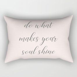 Soul Shine Rectangular Pillow