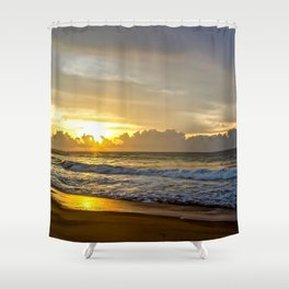 Sunrise over Sri Lanka Shower Curtain
