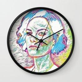 Jamie Alexander (Creative Illustration Art) Wall Clock