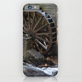 Grist Mill Grinding iPhone Case
