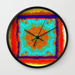 Rustica Mandala (5) Wall Clock