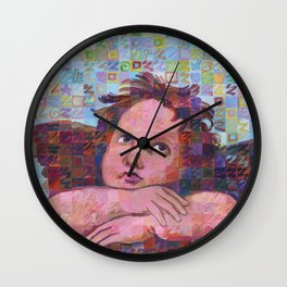 Sistine Cherub No. 2 Wall Clock