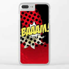 Rembaaam Clear iPhone Case