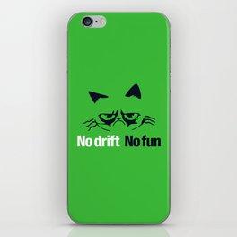 No drift No fun v7 HQvector iPhone Skin
