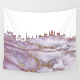 Budapest Hungary Skyline Wall Tapestry