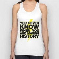 history Tank Tops featuring HISTORY by Silvio Ledbetter