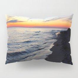 Sunset Over Lake Michigan Pillow Sham