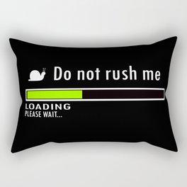 Plase Wait Rectangular Pillow