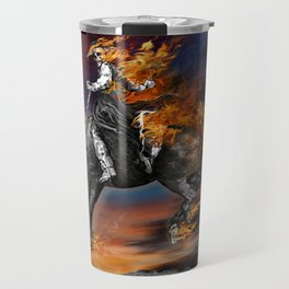 Texas Ghost Rider Travel Mug