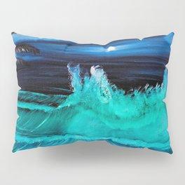 """Moonlite Tides"" Pillow Sham"