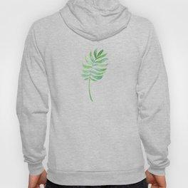 Tropical Palm Leaf Hoody