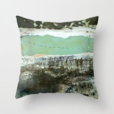 torn Throw Pillow