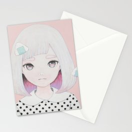 Onigiri Portrait Stationery Cards