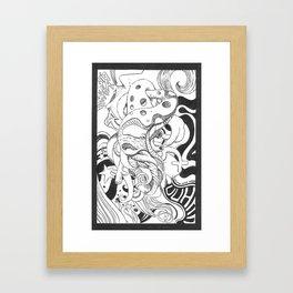 Sex moment Framed Art Print