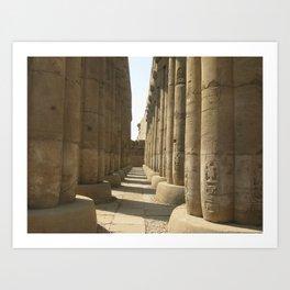 Temple of Luxor, no. 3 Art Print