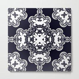 White lace 2 Metal Print