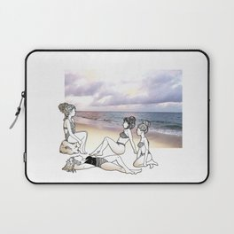 Girlfriends at the Beach Laptop Sleeve