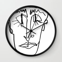 MINIMAL FACE Wall Clock