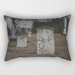 Little Cemetery on the Hill 2 Rectangular Pillow
