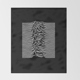 Joy Division - Unknown Pleasures Throw Blanket