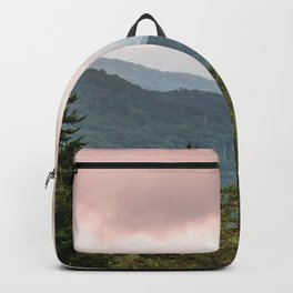 Great Smoky Mountain National Park Sunset Layers III - Nature Photography Backpack