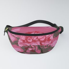 Pink Camelia Fanny Pack