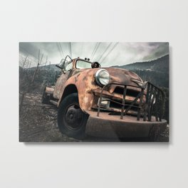 Rusty Road Metal Print