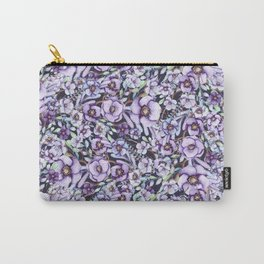 FLOWERS WATERCOLOR 24 Carry-All Pouch