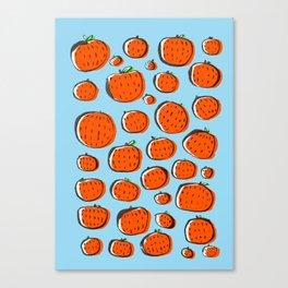 Naranjas de invierno Canvas Print