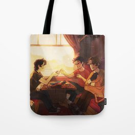 Sunfilled compartment Tote Bag