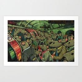 Tube Rats Art Print