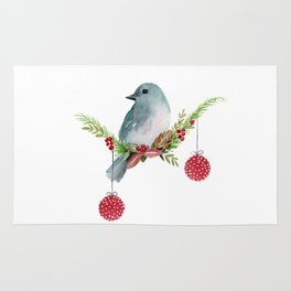 Christmas Bird - Winterland Rug