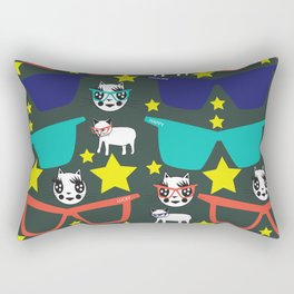 EYE FASHIONISTA CATS Rectangular Pillow