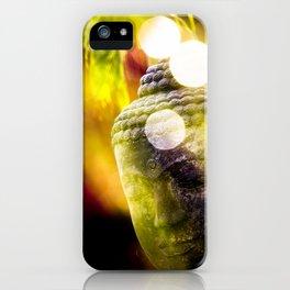 Head of Buddha iPhone Case